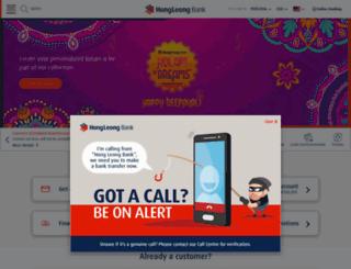 hongleongbank.com.my screenshot