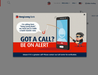 hongleongbank.com screenshot