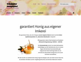 honigtoepferl.com screenshot