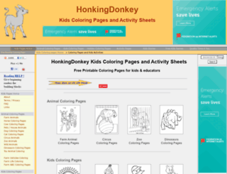 honkingdonkey.com screenshot