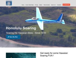 honolulusoaring.com screenshot