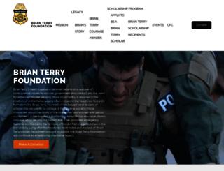 honorbrianterry.com screenshot