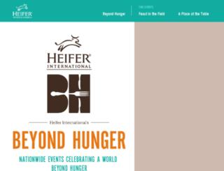 honorcards.heifer.org screenshot