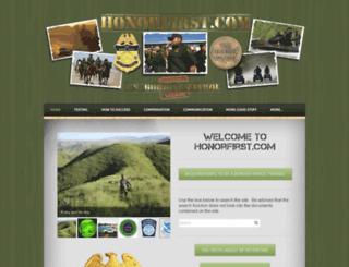 honorfirst.com screenshot