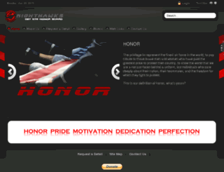 honorguard075.com screenshot