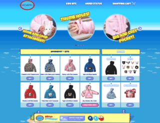 hoodiepet.com screenshot