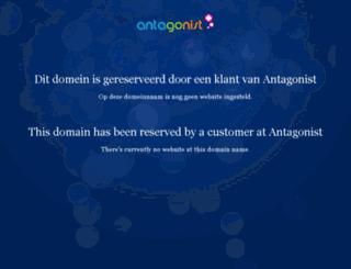 hoogspanningtrapeze.nl screenshot