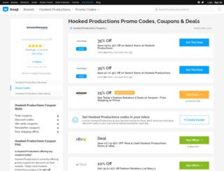 hookedproductions.bluepromocode.com screenshot