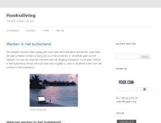 hooksdiving.com screenshot