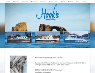 hookslanding.net screenshot