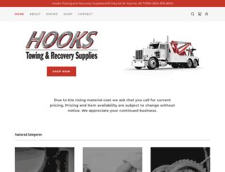 hookswreckersupplies.com screenshot