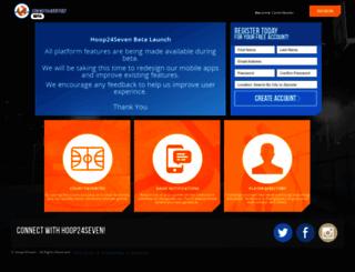 hoop24seven.com screenshot