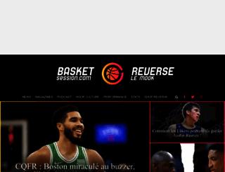 hoopdiary.basketsession.com screenshot