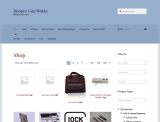 hoopergunworks.com screenshot