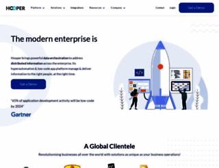 hooperlabs.com screenshot