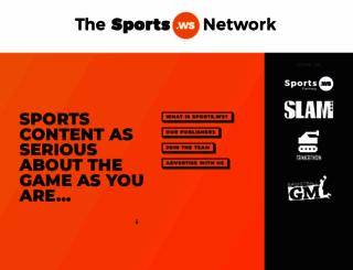 hoops.sports.ws screenshot