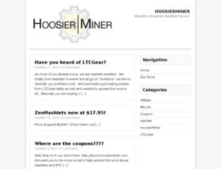 hoosierminer.com screenshot