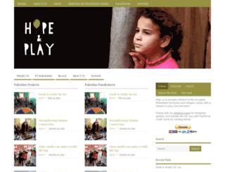 hopeandplay.org screenshot