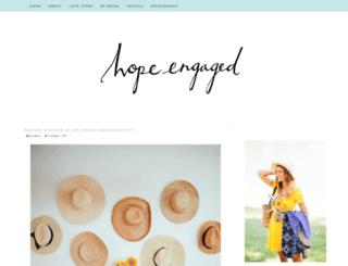 hopeengaged.blogspot.com screenshot