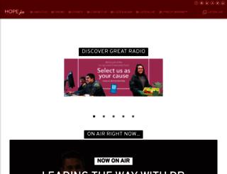 hopefm.com screenshot
