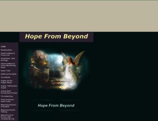 hopefrombeyond.tripod.com screenshot
