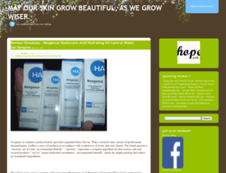 hopeinablog.wordpress.com screenshot