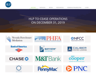 hopeloanportal.org screenshot