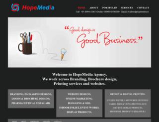 hopemedia.in screenshot
