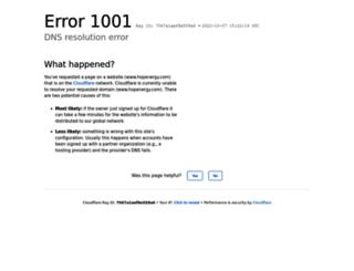 hopenergy.net screenshot