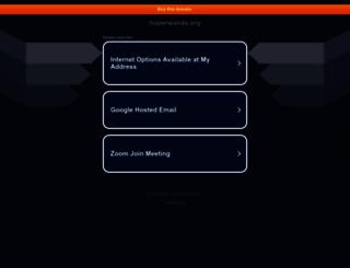 hoperwanda.org screenshot