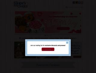 hopescookies.com screenshot