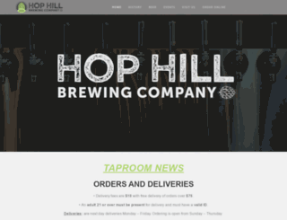 hophillbeer.com screenshot