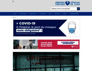 hopital-antoine-beclere.aphp.fr screenshot