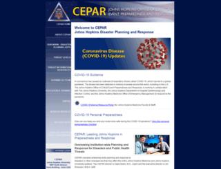 hopkins-cepar.org screenshot