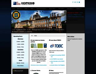 hopkins.ph screenshot