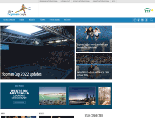 hopmancup.com screenshot