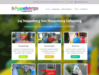 hoppeborgeudlejning.dk screenshot
