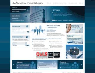 hoppenstedt-firmendatenbank.de screenshot