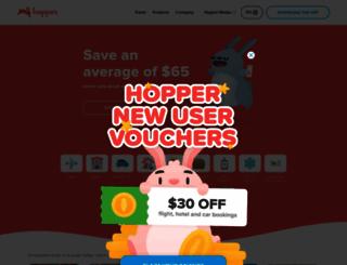 hopper.com screenshot