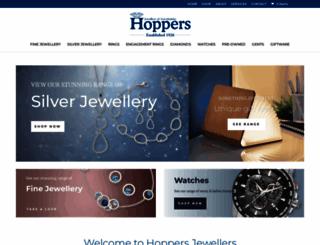 hoppersjewellers.co.uk screenshot
