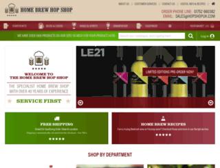 hopshopuk.com screenshot