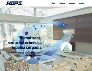 hopsservis.cz screenshot
