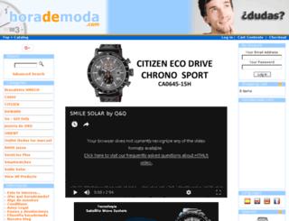 horademoda.com screenshot