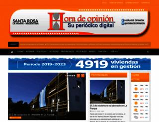 horadeopinion.com.ar screenshot