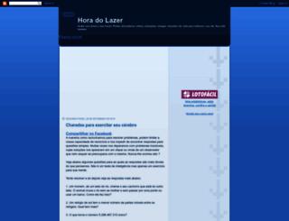 horadolazer.blogspot.com screenshot