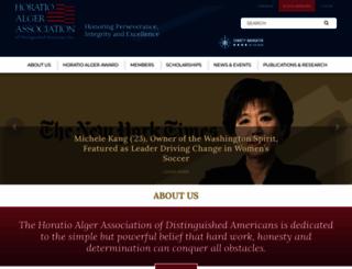 horatioalger.org screenshot