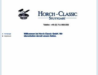 horch-classic.de screenshot