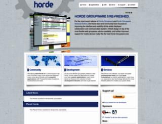 horde.org screenshot