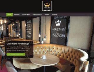 horecahofsteenge.nl screenshot