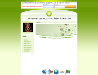 horgolok.eoldal.hu screenshot